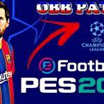 Download OBB Patch PES 2021 Mobile UCL Champions League