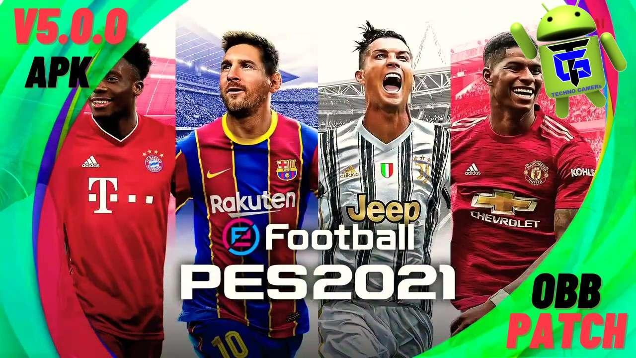 Download PES 2021 APK Mod OBB Patch