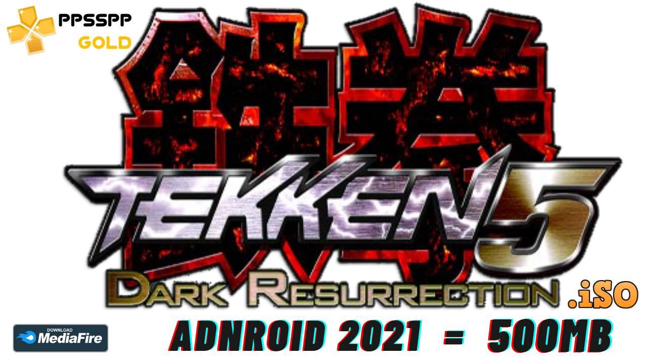 Download Tekken 5 PPSSPP android 2021