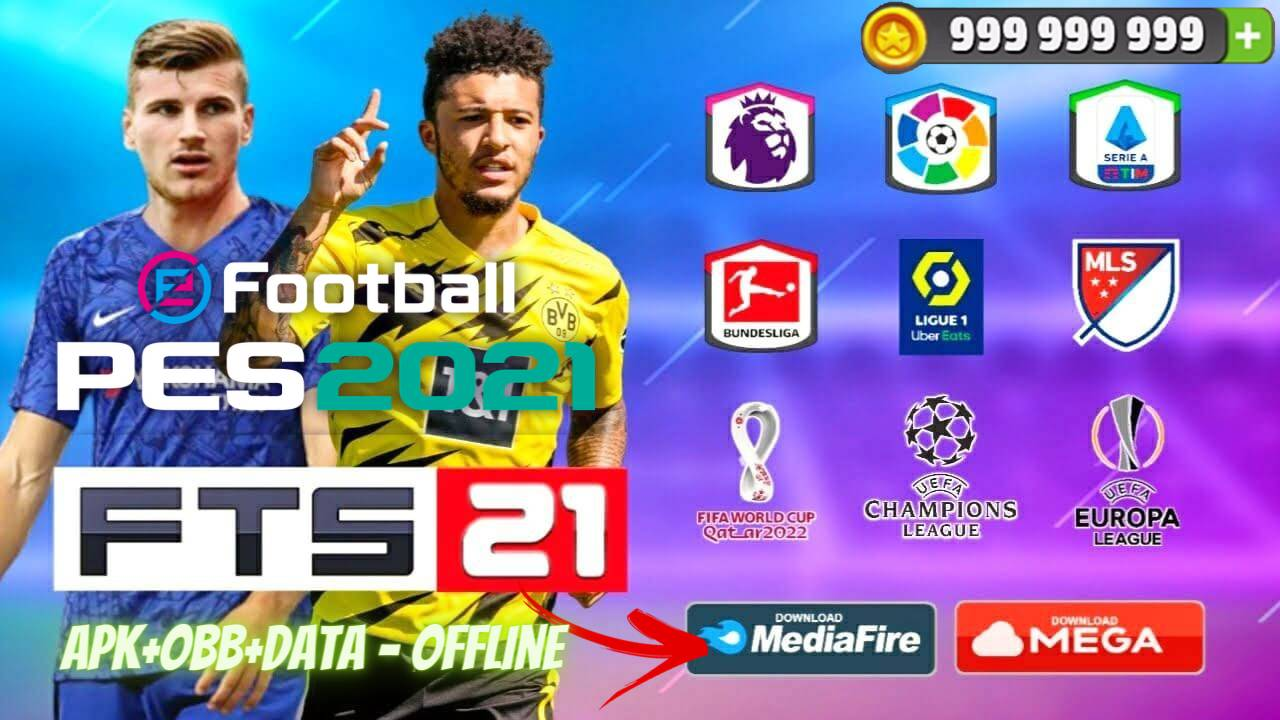 Download FTS 21 Mod PES 2021 Offline Patch Android