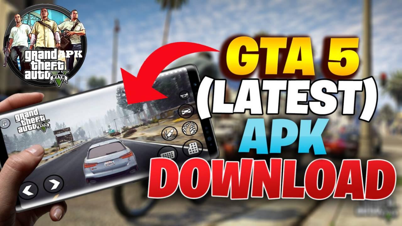 Download GTA 5 APK Mod Latest Game