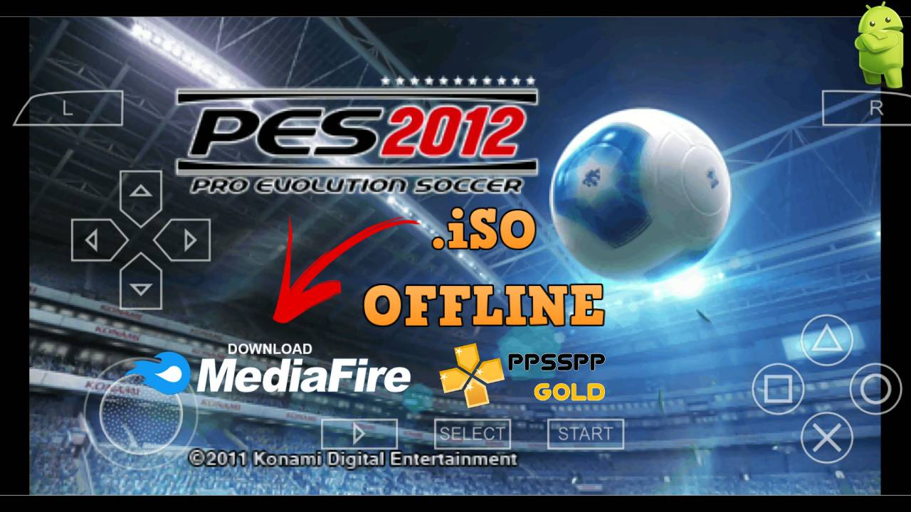 Download PES 2012 PPSSPP for Android