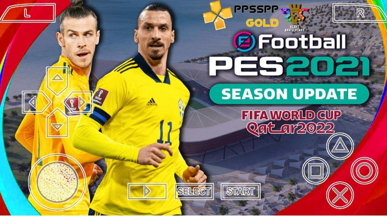 Download PES 2021 Chelito PPSSPP World Cup Qatar 2022 Edition