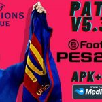 PES 2021 Patch UCL APK OBB Download