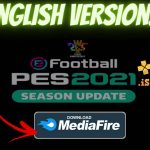 PES 2021 PPSSPP Android English version Download