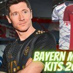Bayern Munich Kits 2022 DLS 21 FTS 15