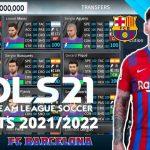 DLS 21 APK Mod Kits 2022 Barcelona Download