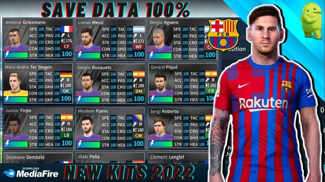 DLS 21 Barcelona Save Data KITS 2022 Download profile.dat