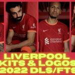 DLS Liverpool Kits 2022 Touch Soccer Kits Logo FTS