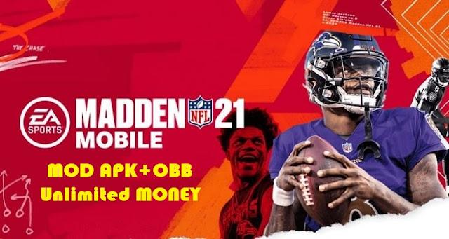 Download Madden NFL 21 APK Mod Money Unlocked