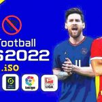 PES 2022 PPSSPP English Version Update Kits Faces Transfers Download